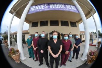 Cal Guard medical team supports COVID-19 nursing facility
