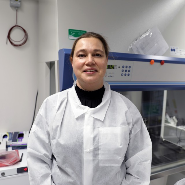 Nina Gruhn is a senior microbiologist in the Biological Analysis Division at Public Health Command Europe.