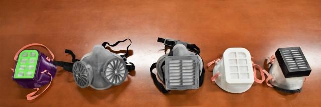N95 mask prototypes