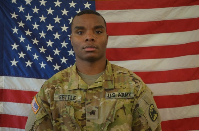 Sgt. Lenar Settle, an UH-60 (Blackhawk) helicopter repairer assigned to Bravo Company, 46th Aviation Support Battalion, 16th Combat Aviation Brigade, and a native of Whitehall, Penn., was killed in a car accident in Lakewood, Wash., on Sept. 7, 2020.