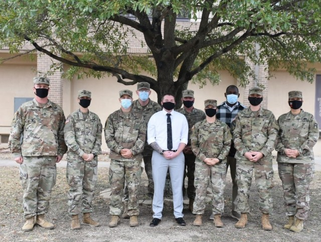 3d Cavalry Regiment Retention Counselors were recognized for their team efforts during an awards ceremony for the Regimental Support Squadron on January 8 at Fort Hood, Texas.  (U.S. Army photo by Maj. Marion Jo Nederhoed)
