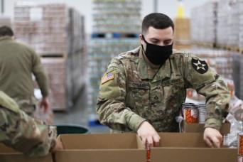 Washington National Guard supports Emergency Food Network