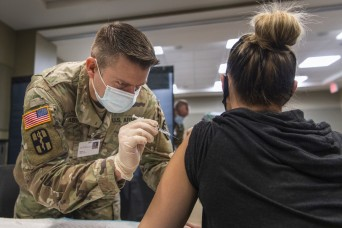 National Guard takes on COVID-19 vaccination mission