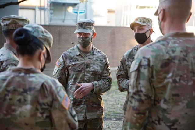 Barracks visit
