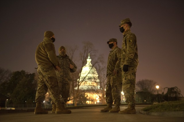 More National Guard troops head to DC for inaugural support