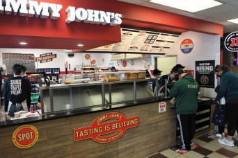 Jimmy Johns opens 'freaky fast' at Fort Knox