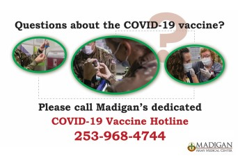 """Madigan launches """"COVID-19 Vaccine Hotline"""" to keep patients informed"""