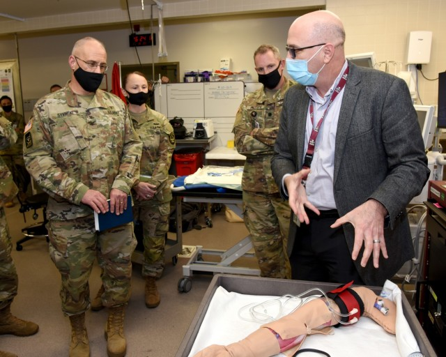 US Army Institute of Surgical Research research team