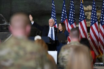 Vice president returns to Fort Drum with message of thanks to service members
