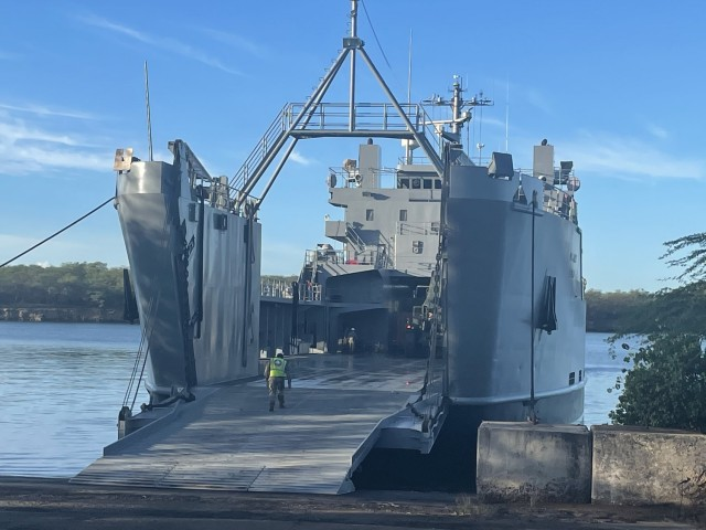 599th begins year with Marine, AFSB vessel ops