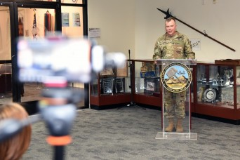 JMC's CSM takes modernization lessons learned to Infantry School
