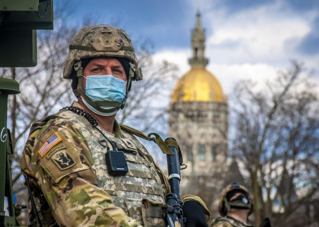 Connecticut National Guard assists local authorities protect Capitol