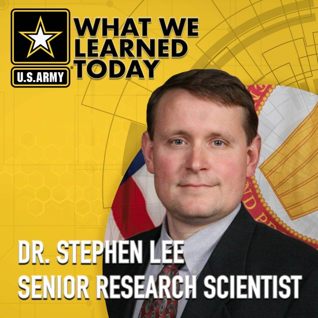 Join us for an extended discussion with Senior Research Scientist Dr. Stephen Lee in the Jan. 21, 2021, What We Learned Today podcast: https://armyresearchlab.podbean.com/e/interdisciplinary-science-combines-ideas-to-make-army-stronger/