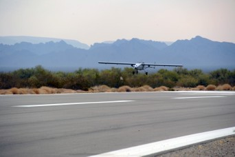 TigerShark unmanned aircraft tested at U.S. Army Yuma Proving Ground