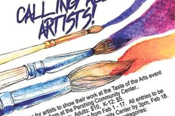 Fort Leonard Wood FMWR seeks artists for Feb. 19 show