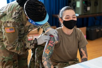 Vaccine rodeo gives APG Soldiers, civilians an opportunity to be 'selfishly selfless'