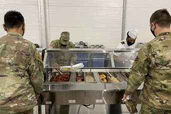 Hunter Army Airfield opens temporary dining facility