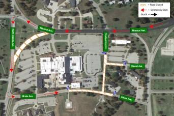 Upcoming road closures on Fort Leonard Wood