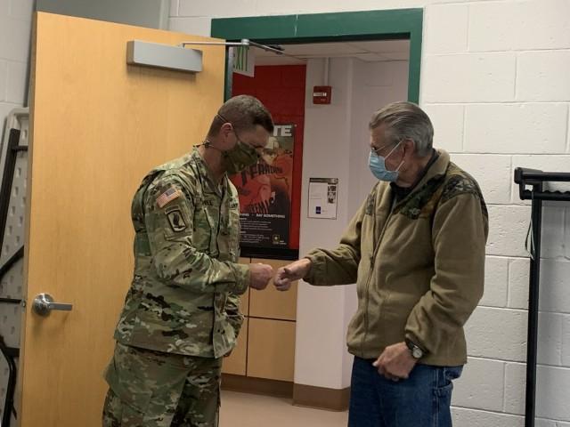 402nd Army Field Support Battalion – Alaska celebrates an employee's career milestone