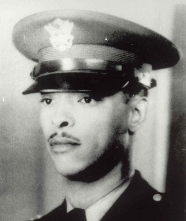 1st Lt. John R. Fox, field artillery forward observer.