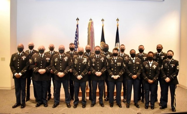 Noncommissioned officers (NCO) graduated the religious affairs military occupational specialty senior leaders course held at Fort Jackson, South Carolina. The 94th Training Division - Force Sustainment is exploring moving the reclassification and NCO leadership courses to the new location as part of the Proof of Principle —a pilot program that demonstrates the ability to host the course in the same capacity as when held at its current location at Fort Knox, Kentucky.
