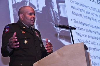 MLK observance highlights the Army's 'People First' initiative