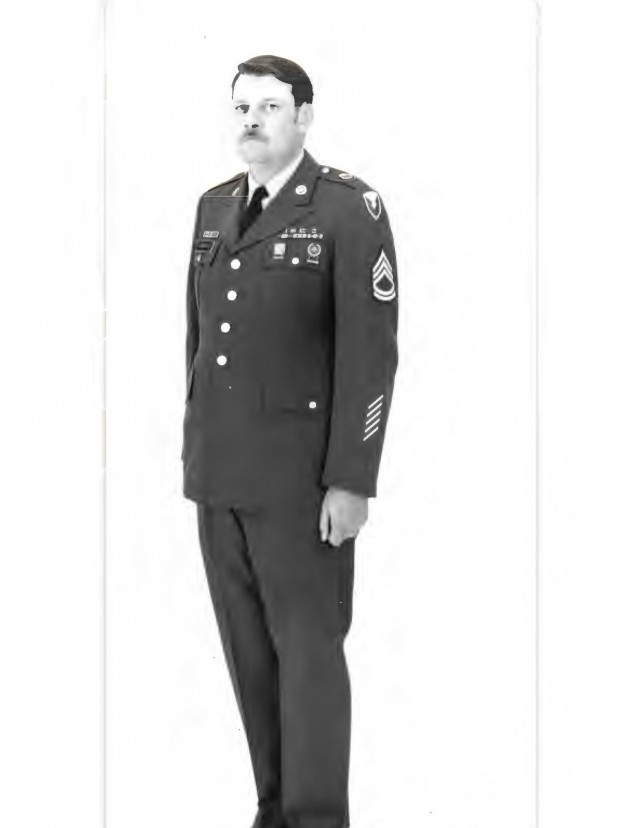 Ron Gibbens' official photograph from when we was stationed at Fort Greely, Alaska.