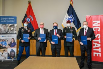 82nd Airborne Division Collaborates with NC State for New Educational Partnership