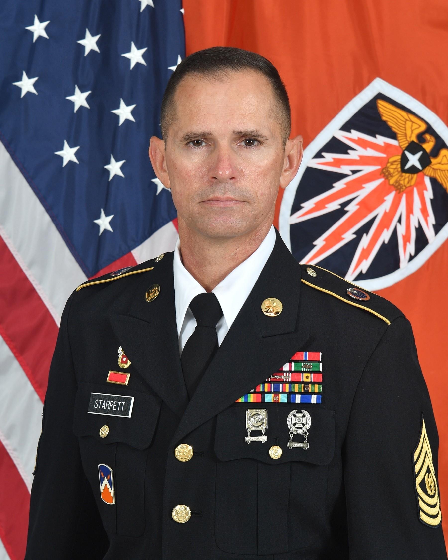 Command Sergeant Major Michael K. Starrett