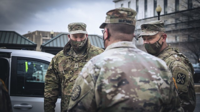 Michigan National Guard stands up and stands out during Capitol response