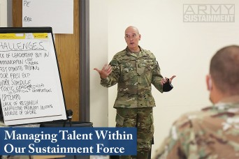 Managing Talent Within Our Sustainment Force