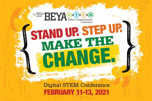 Army Materiel Command is one of several military and federal organizations that will join with defense industry and corporation in having a significant presence at the 2021 digital Black Engineer of the Year Awards STEM Global Competiveness Conference Feb. 11-13. BEYA is known for providing career mentoring, networking and opportunities for science and technology professionals, particularly minorities.