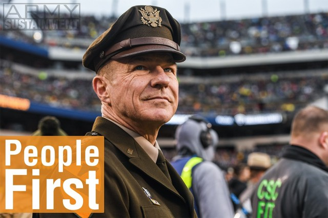 Chief of Staff of the Army Gen. James C. McConville attends the 2019 Army Navy Game in Philadelphia, Pa., Dec. 14, 2019.