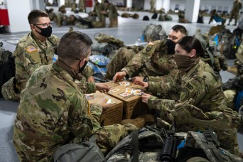 Morale efforts sustain Guard members during DC mission