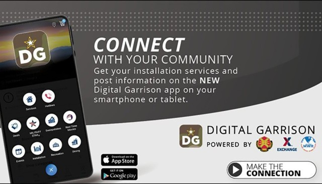 The Digital Garrison App is a partnership venture between the Installation Management Command and the Army and Air Force Exchange Service. The software can be downloaded on Android and Apple devices. Users will be prompted to set up a password-protected account. Once they select Fort Lee as their location, the app will provide the applicable information.