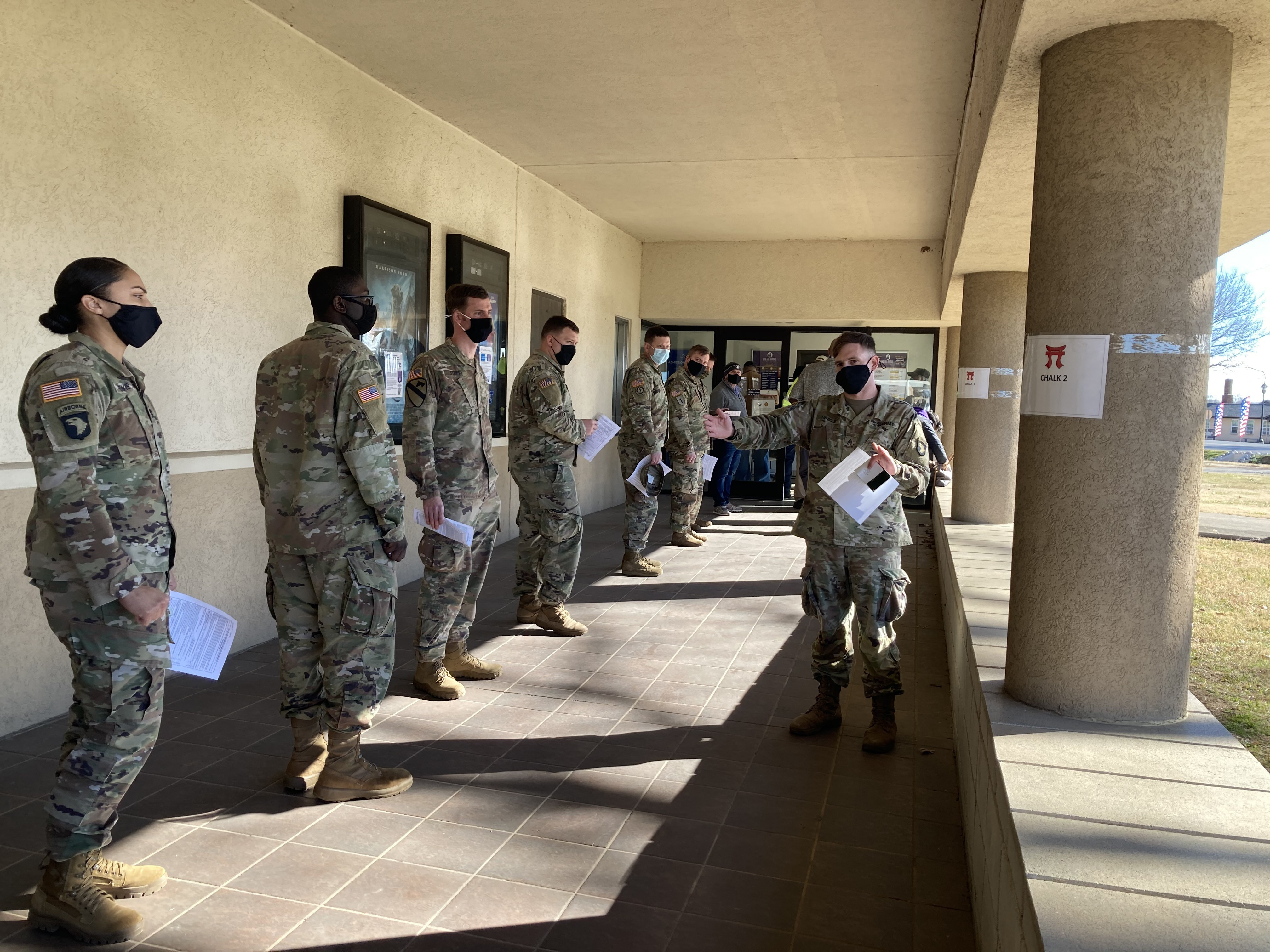 Protecting The Force Fort Campbell S Wilson Theater Becomes Immunization Hub For Workforce Article The United States Army