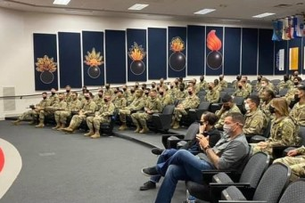 Stamping out the stigma: Ordnance company teaches self-care is key to mental health maintenance