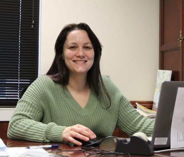 Rachael Yeoman, a paralegal at the Office of the Staff Judge Advocate, is manager of the Redstone Tax Center.