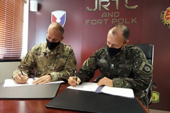 Brazilian, U.S. military leaders emphasize partnerships at JRTC