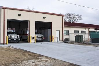 Dugway ambulances get warm, cool shelter