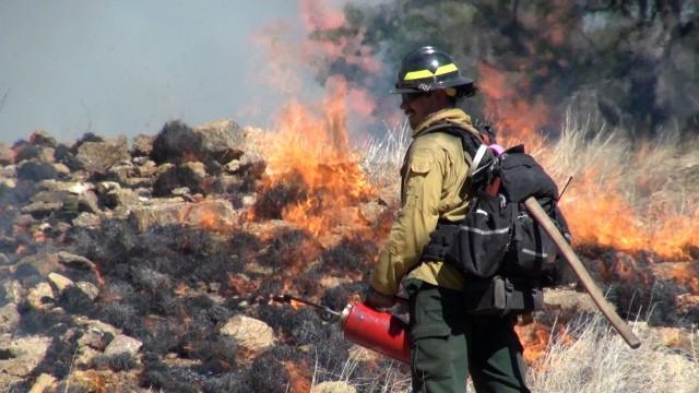Fire Season at fort Huachuca