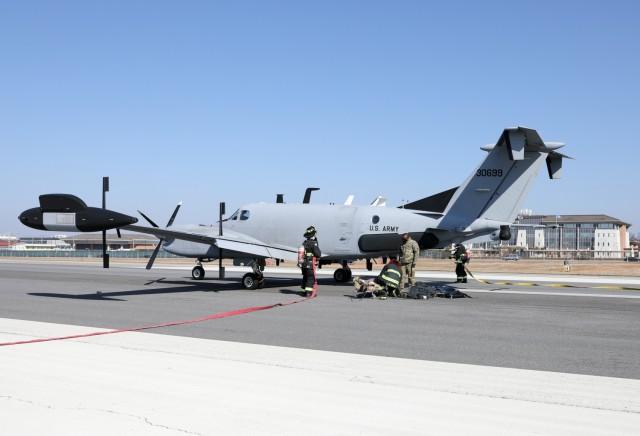 Medevac Practice on Army Airfield