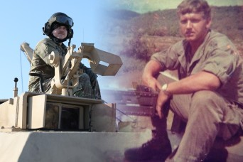 Tanks, 'it's in the blood' for one corporal