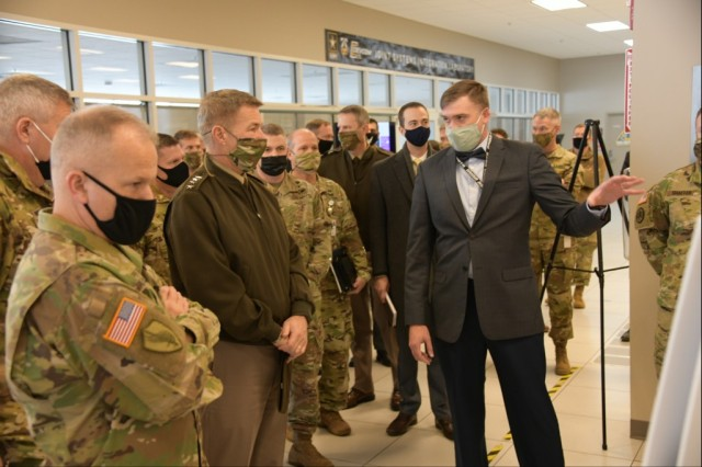 CPCE enhancements on display for Gen. McConville during visit to APG