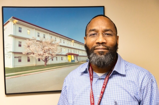 Jason Braxton is an environmental engineer who works at the garrison on Redstone Arsenal.