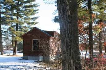 Photo Essay: Cabins at Fort McCoy's Pine View Campground