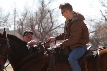 Fort Sill Soldiers saddle up, harness team skills