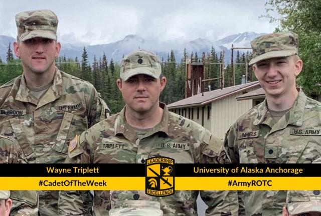 Cadet Wayne Triplett