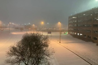 Army hospital powers through record-breaking winter storms