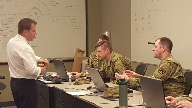 CGSC students used developmental CPCE software and provided useful feedback to engineers and program leadership during a Mission Command Battle Lab (MCBL)-hosted pilot course in 2017.